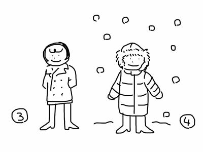 雪国の秋冬アウターを考える