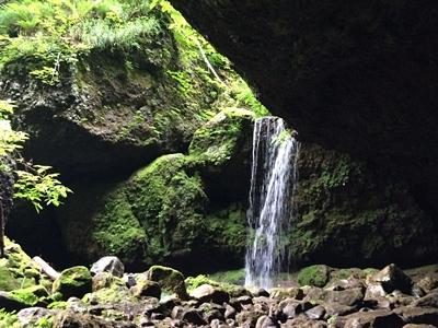 小樽の穴滝